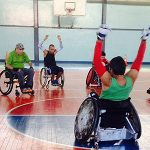 El rugby en silla de ruedas sigue creciendo en Chile