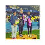 Isidora Jiménez y Carlos Díaz ganaron medallas de oro en el Grand Prix de Atletismo en Concepción