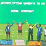 María Fernanda Valdés se coronó campeona sudamericana de levantamiento de pesas