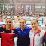 Simona Castro clasifica a dos finales por aparatos en la Copa del Mundo de Gimnasia en Cottbus