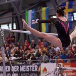 Simona Castro logró el cuarto lugar de las barras paralelas en Cottbus
