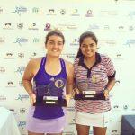Fernanda Brito se coronó campeona de dobles en el ITF de Sao Jose do Rio Preto