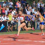 Isidora Jiménez y Karen Gallardo ganaron medalla de oro en el Grand Prix de Atletismo Carlos Strutz
