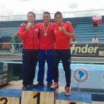 Cinco nuevas medallas sumó Chile en el Sudamericano de Clavados
