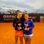 Fernanda Brito se tituló campeona de dobles del ITF Villa del Dique