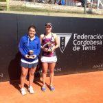 Fernanda Brito se quedó con el vicecampeonato del ITF de Villa del Dique