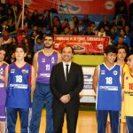 A gimnasio lleno se inauguró la temporada 2016 de la Liga Saesa