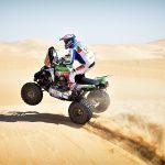 Ignacio Casale superó una complicada primera etapa del Rally de Abu Dhabi