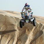 Ignacio Casale obtuvo su segundo triunfo en quads en el Rally de Abu Dhabi