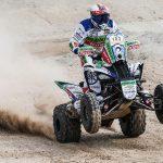 Ignacio Casale ganó el prólogo de los quads en el Abu Dhabi Desert Challenge