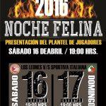 Colegio Los Leones presenta a su plantel 2016 en la Noche Felina