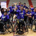 Alpos se consagra campeón nacional del básquetbol en silla de ruedas
