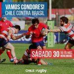 """Los """"Cóndores"""" viajan a Brasil para disputar la segunda fecha del Sudamericano Mayor A de Rugby"""