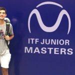 Tomás Barrios viajó al Master Junior ITF en China