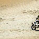 Pablo Quintanilla recuperó el primer lugar del Rally de Qatar