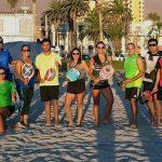 Iquique tuvo dinámica clínica de tenis playa con miras al G4 en mayo próximo