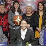 """Seleccionadas de la """"Época Dorada"""" del básquetbol femenino recibieron un reconocimiento a su trayectoria"""