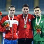 Iván López gana medalla de oro en el Iberoamericano de Atletismo