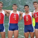 Remeros nacionales ganan seis medallas en el Open de Aiguibelette