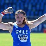 Natalia Duco gana medalla de bronce en el Iberoamericano de Atletismo