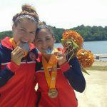 María José Mailliard y Karen Roco cerraron el medallero chileno en el Panamericano de Canotaje