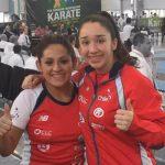 Gabriela Bruna y Constanza Paredes suman medallas para Chile en el Panamericano de Karate