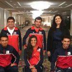 Selección Chilena Junior sufrió su primera caída en el Mundial de Tenis en Silla de Ruedas