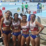 Cuarteta femenina del 4x400 entregó la última medalla para Chile en el Iberoamericano de Atletismo