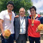 Jonathan Tafra y Álvaro Torres se titularon campeones panamericanos de canotaje