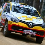 Team Renault se mantiene en la lucha por la punta de la categoría R3 del Rally Mobil