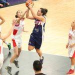 Chile sufrió su tercera derrota en el Sudamericano de Básquetbol Femenino