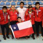Selección Chilena Cadete de Lucha Olímpica gana cinco medallas en Guatemala