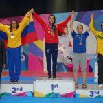 Francisca Ríos logro medalla de oro para Chile en el Open Querétaro de Taekwondo
