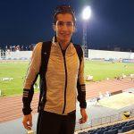 Carlos Díaz logra nuevo récord chileno de los 1500 metros planos