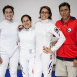Chile cerró su participación en el Panamericano de Esgrima con las competencias por equipos
