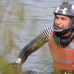 Felipe Miranda logró el cuarto lugar de la final de salto en Croacia
