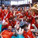 Chile debutó con un triunfo en el Repechaje Olímpico de Volleyball Varones