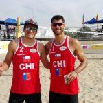 Chile derrota a Colombia en la tercera jornada de la Continental Cup de Volleyball Playa