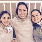 Karen Moreno destacó en la competencia de sable femenino en el Panamericano de Esgrima