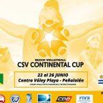 Chile recibe la Continental Cup de Volleyball Playa que otorga cupos a Río 2016