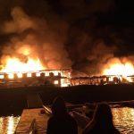 Incendio destruyó el Centro de Alto Rendimiento de Curauma