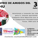 Encuentro de Amigos del Wushu buscar apoyar viaje de Ariel Mancilla al Panamericano