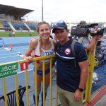 Norka Moretic clasificó a la final de salto triple del Mundial Juvenil de Atletismo