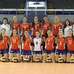 Chile cayó ante Brasil por el Sudamericano Femenino Sub 23 de Volleyball