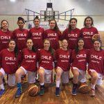 Chile cayó ante Canadá en el Premundial U18 Básquetbol Femenino