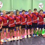 Chile finalizó en el décimo lugar por equipos del Panamericano Junior de Badminton