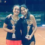 Bárbara Gatica se tituló campeona de dobles del ITF de Schio