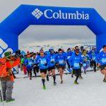 Cientos de atletas participaron de la segunda versión del Snow Running