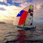 Equipo Grez debuta este lunes en la Semana Internacional de la Vela en Brasil