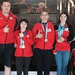 Selección Chilena de Natación Paralímpica brilla en Canadá